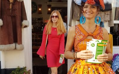 Op 10/10 dag van de duurzaamheid presenteerde Blije Meisjes ' Awearness fashion '