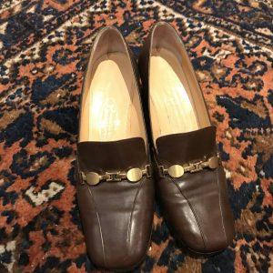 Bruin schoentje