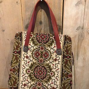 Vintage tas rood
